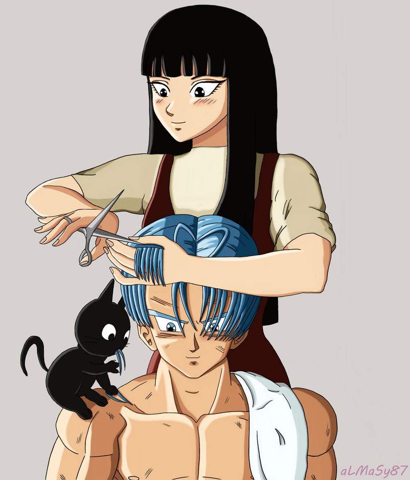 Trunks*Mai - Haircut by almasy87
