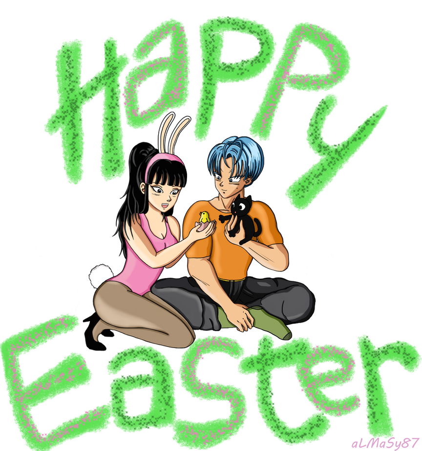 Trunks*Mai - Easter 2017 by almasy87