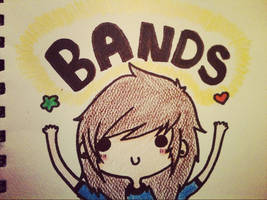 i love bands ok by cascadeofstars