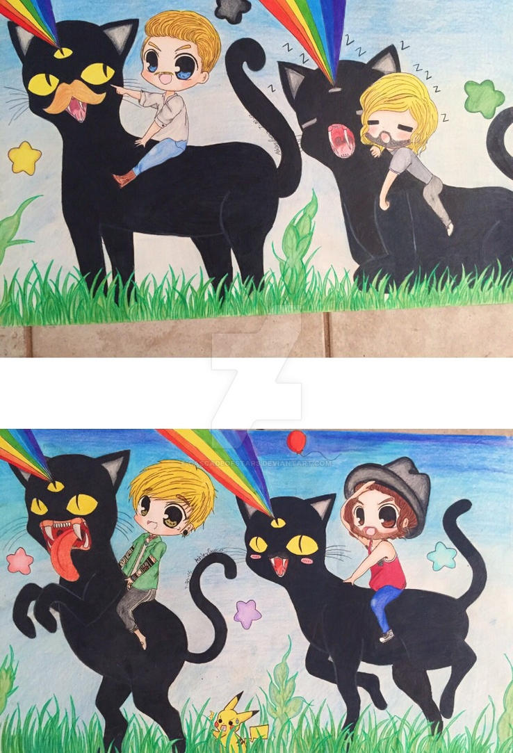 BLACK CAT! by cascadeofstars