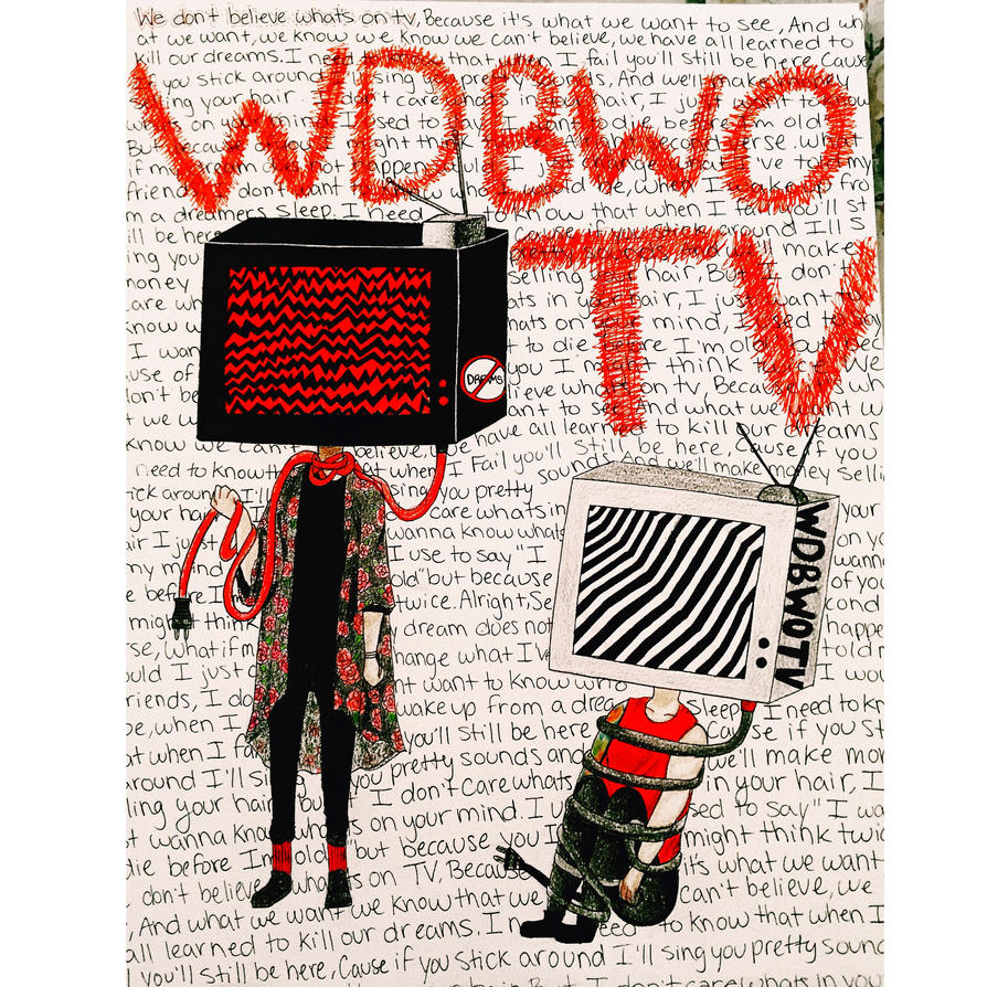 We don't believe what's on TV by cascadeofstars
