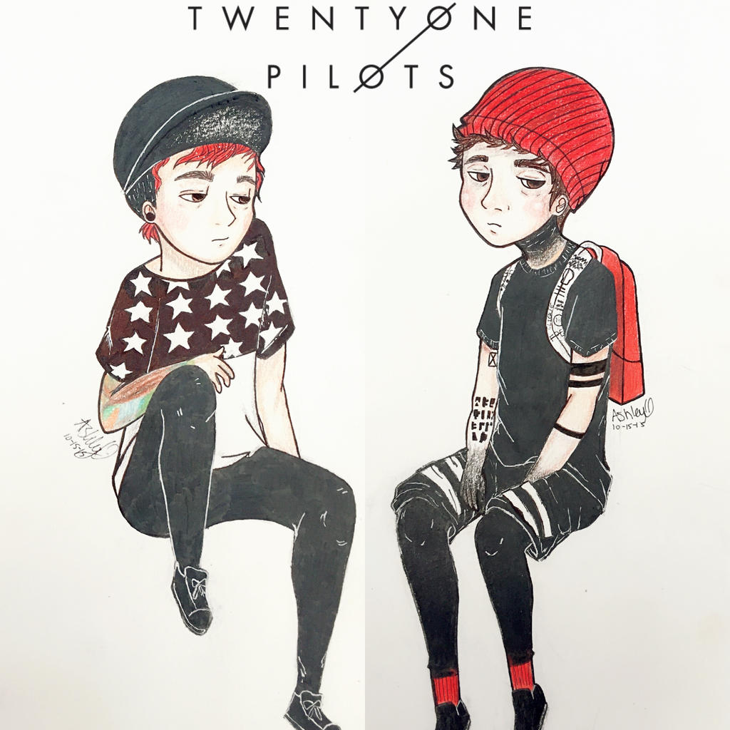 Twenty One Pilots By Cascadeofstars On DeviantArt