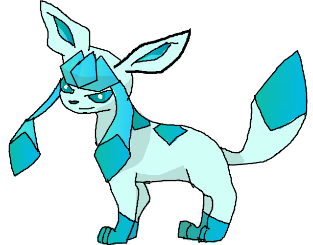 Drew Glaceon by Moracalle