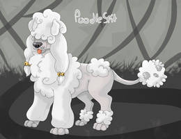 PoodleSpit [Art Trade] by Moracalle