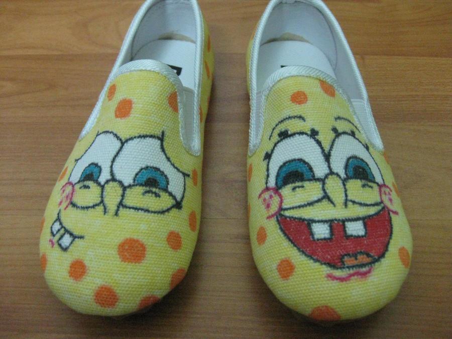 Spongebob shoes by RaZero0