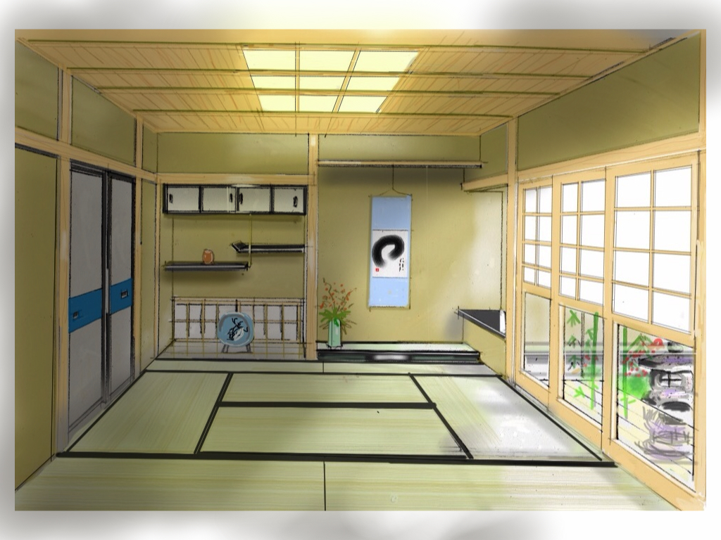 Pin tatami rooms on pinterest - Tatami japones ...