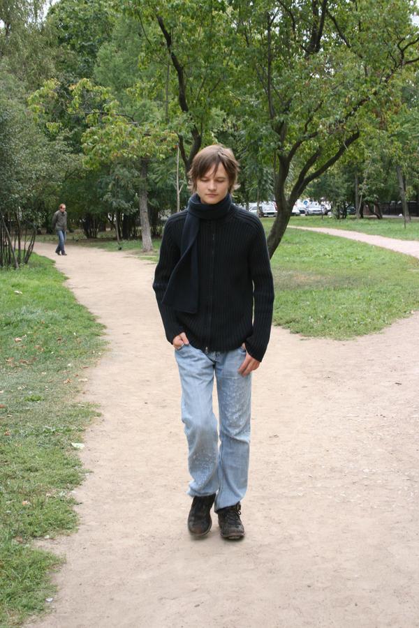 Walking boy by Felicity-MHStock