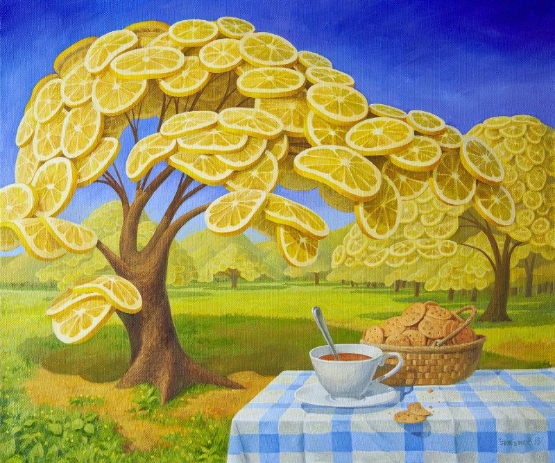 lemon's garden by VitUrzh