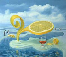 Lemon on Ice by VitUrzh