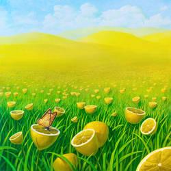 Lemon field 2 by VitUrzh