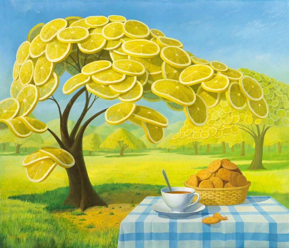 Lemon Garden 2 by VitUrzh