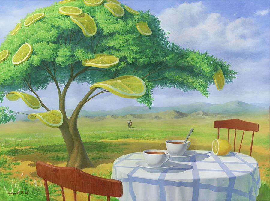 Lemon Tree. Noon by VitUrzh