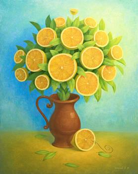 Lemon Bouquet II