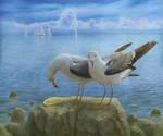 lemon and seagulls