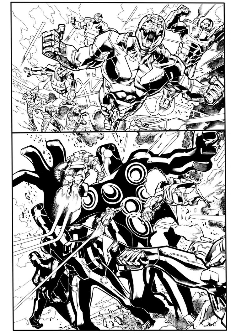 X-O Manowar#47 -page-10-sample by Sandrotrs
