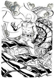 One Punch Man by Sandrotrs