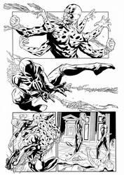 Spiderman2099 Balbi Pencil Inker Sandro Ribeiro by Sandrotrs