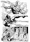 Spiderman2099 Balbi Pencil Inker Sandro Ribeiro