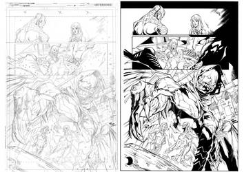 RAVAGERS#08page20 penciller-IG-Inker-Sandro Ribeir
