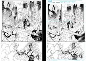 Ultimade spiderman 02 inker Low Sample