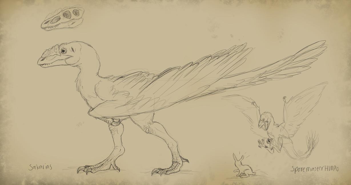 Speculative Evolution sketchning 1 by SporemasterHIMPO