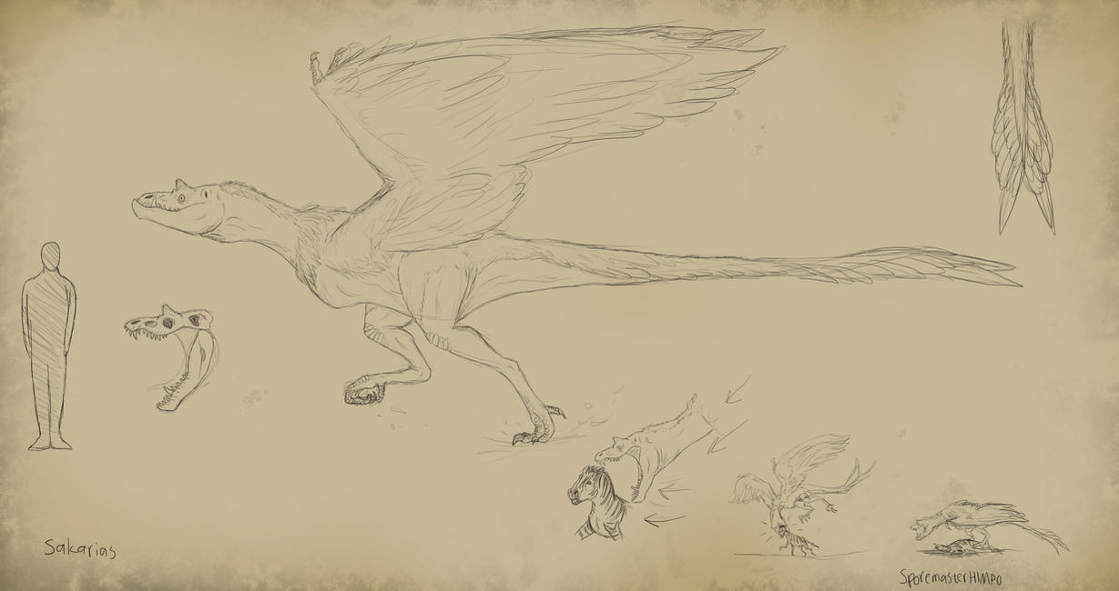 Speculative Evolution sketchning 2 by SporemasterHIMPO