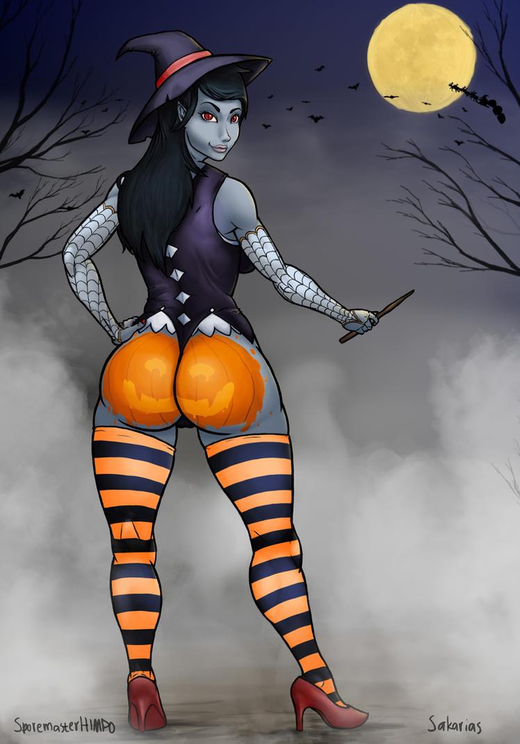 Merry Halloween Marceline by SporemasterHIMPO