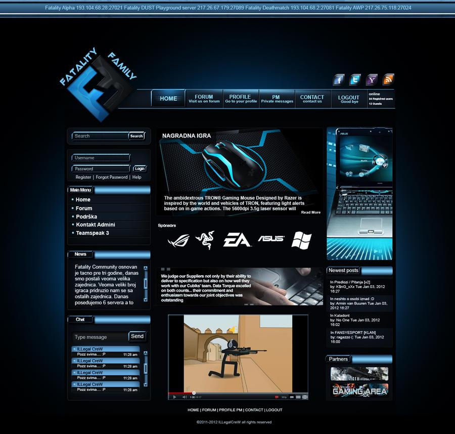 Download Free Flash Web Templates Clan