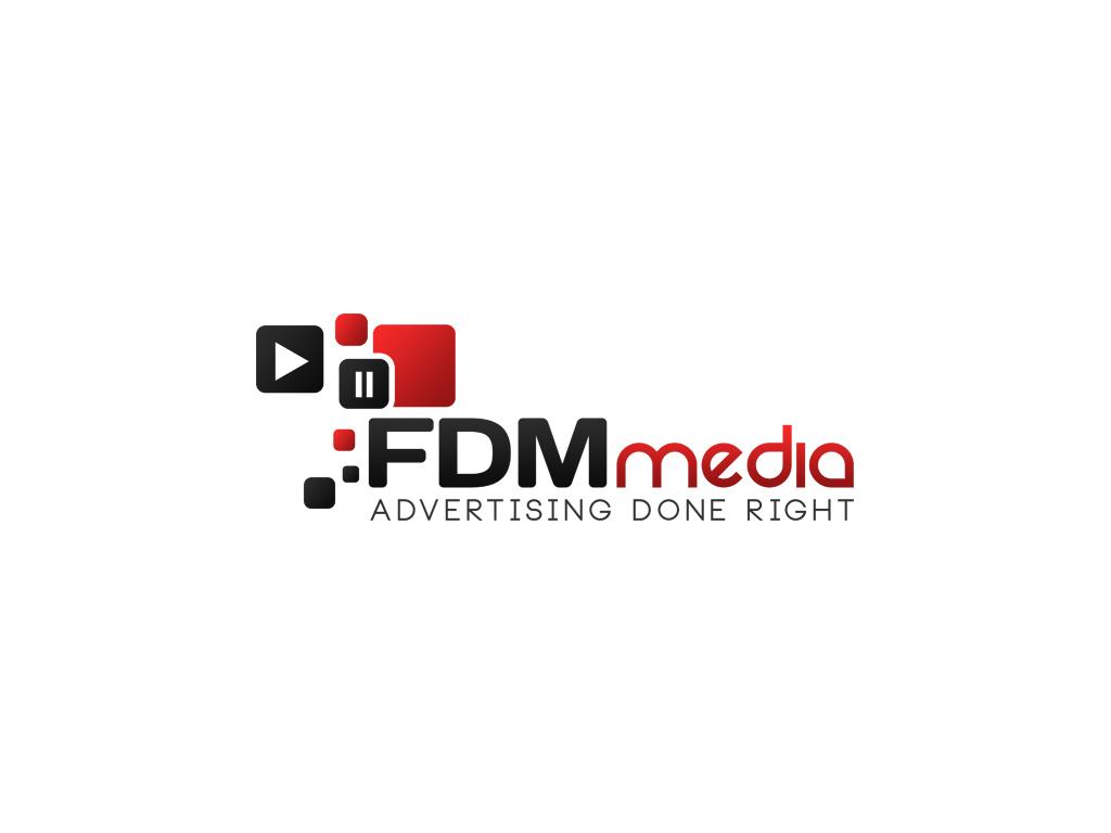 FDM media logo by ComyDesigns