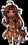 Chibi Island Girl by Selaphi