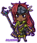 Mini-Chibi: Mister Exotic by Selaphi