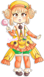 Rune Factory 3 - Collette revisited by Selaphi