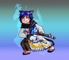 FFXIV COMMISSION -- Samurai