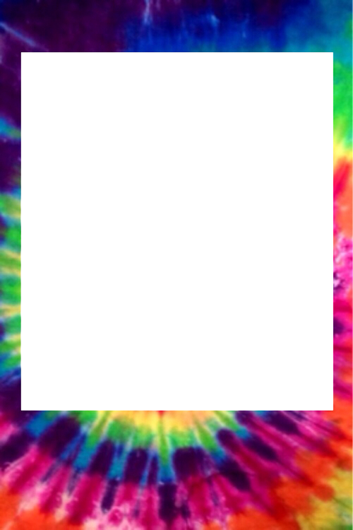 Transparent Tie Dye California Pictures To Pin On