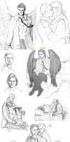 SPN sketches +italian bonus p2 by P-JoArt