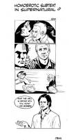 homoerotic subtext in SPN by P-JoArt