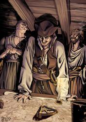 He's a Pirate - RDJ by P-JoArt