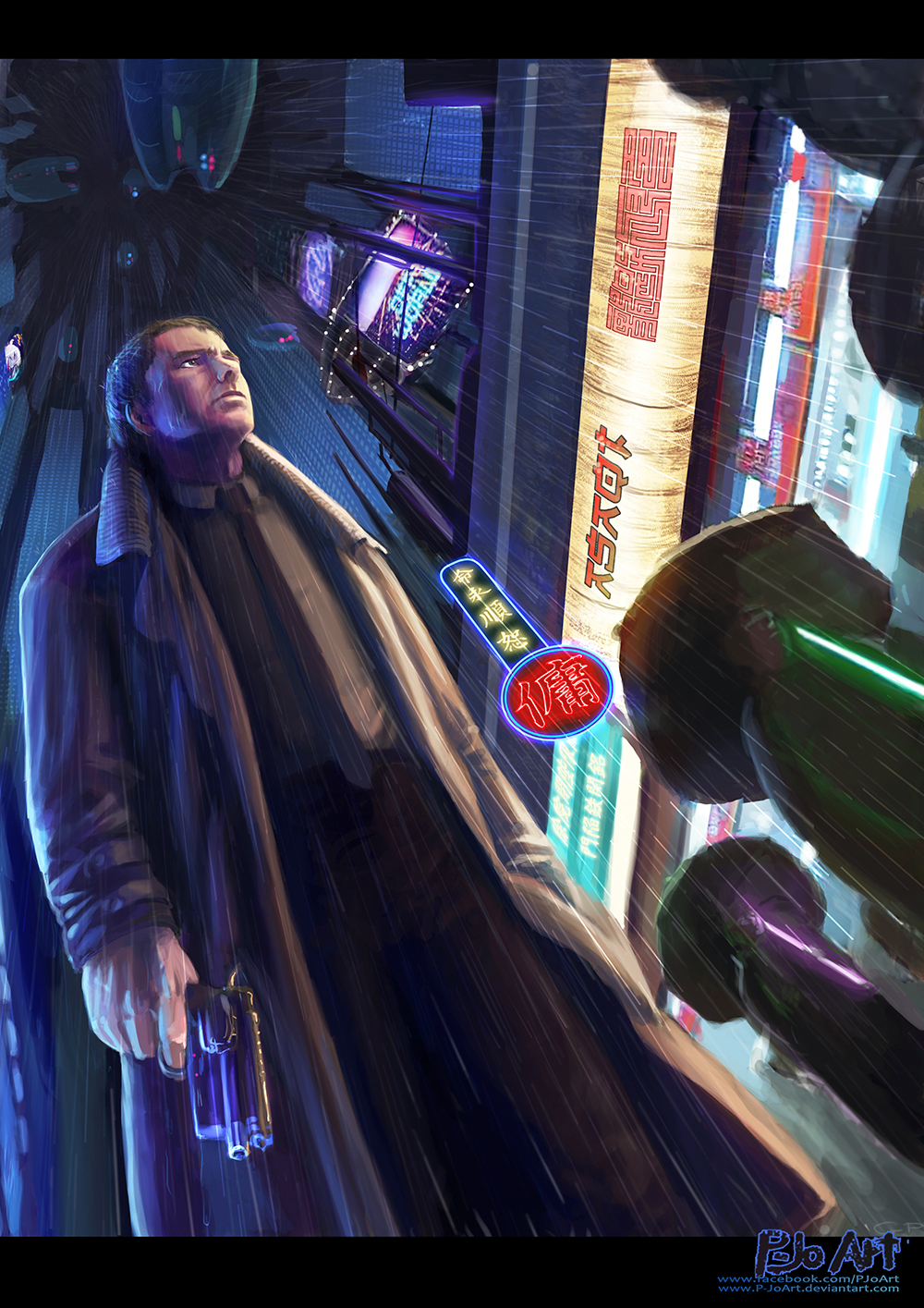 Blade Runner by P-JoArt