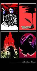 Poe Tarot Cards by P-JoArt