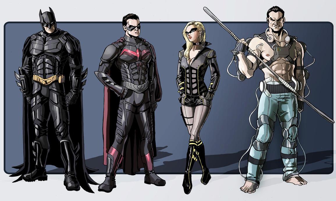 Batman Character Sheet by P-JoArt