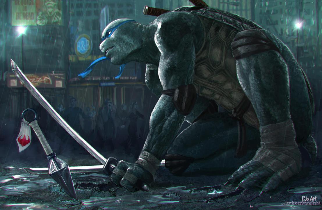TMNT: Ninjas in New York by P-JoArt
