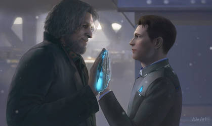 Detroit Become Human: A Bridge between Two Worlds