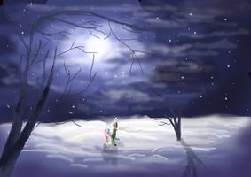 Winter Stroll by mr100dragon100