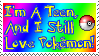 I love Pokemon: Stamp by Katze-Cat-KuroNeko