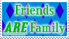 Friends ARE Family: Stamp