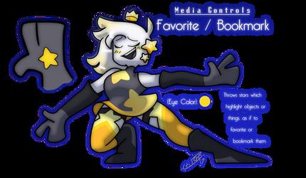 MEDIA CONTROLS: Favorite / Bookmark