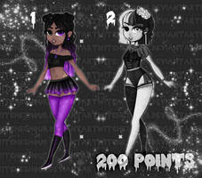 [2/2 OPEN] Alternative Adoptable Babes by WitchesHour