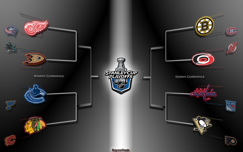 NHL 2009 Playoffs Wallpaper By RayzorFlash