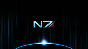 Mass Effect Wallpaper 1 - N7