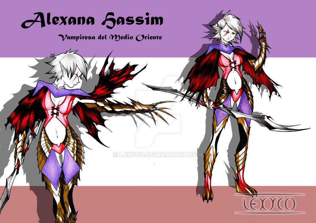 Character Concept - Alexana Hassim by Lexyco